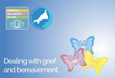 Dealing with Grief and Bereavement Seminar - Header Image